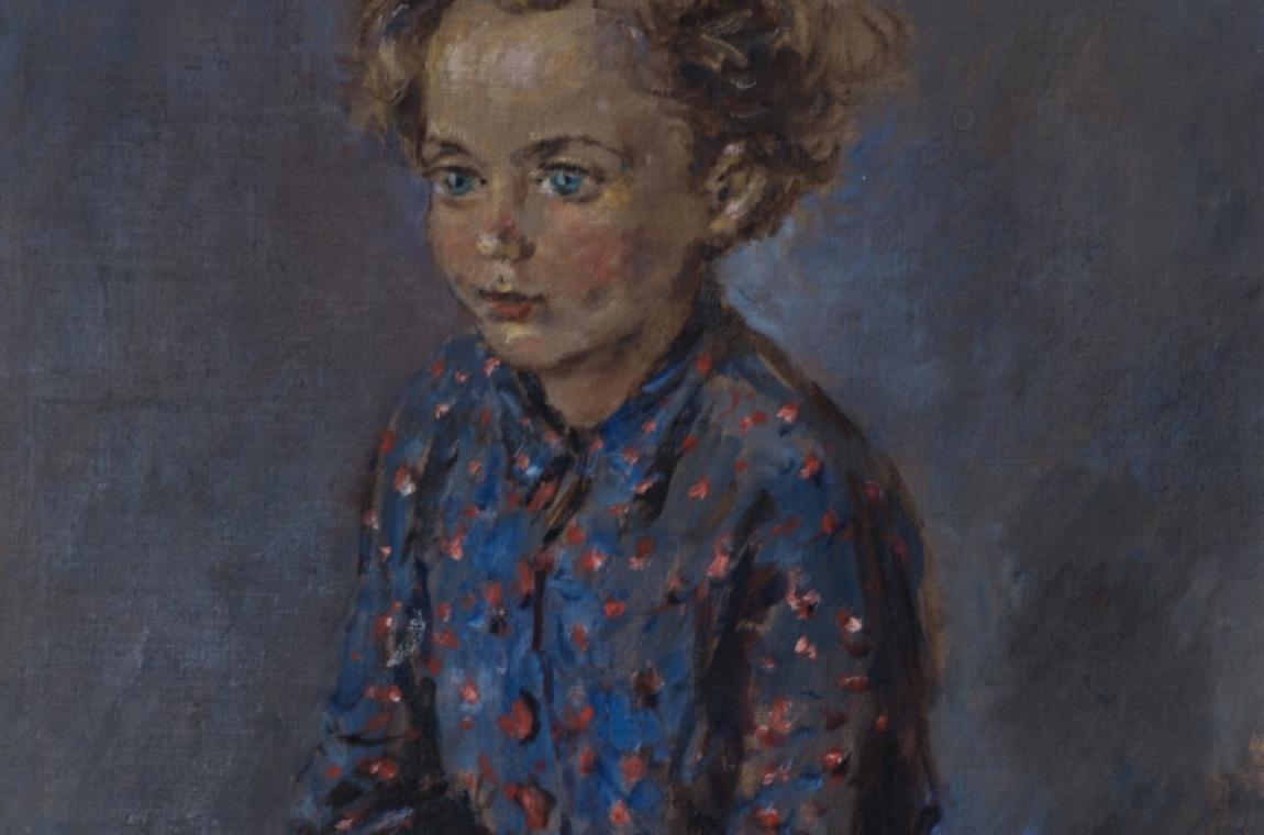 Portrét dítěte 1958